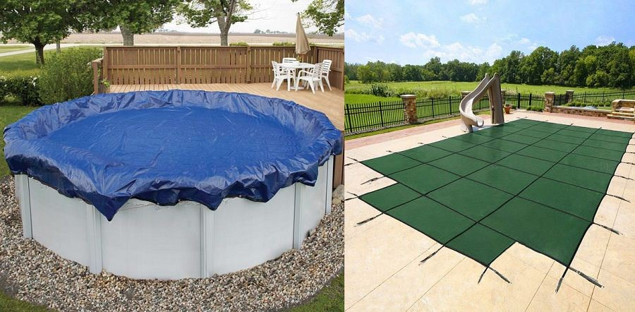 Best Winter Pool Covers 2019 - Inground and Above Ground Pools