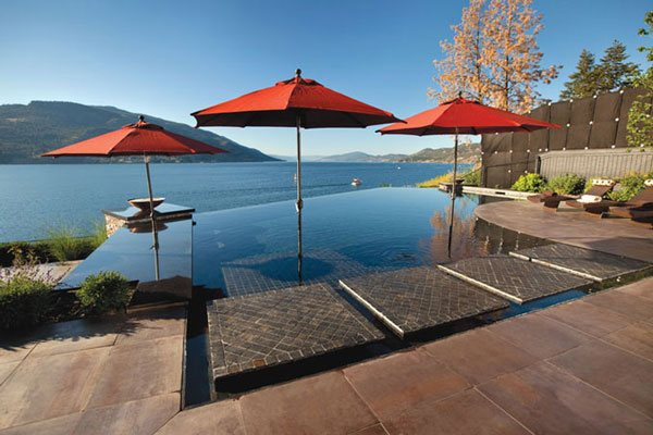 32 Beautiful Infinity Pool Designs - Pool Cleaning HQ